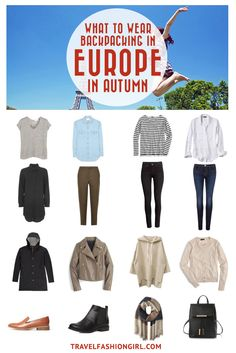 Planning a backpacking trip to Europe in Autumn? Use this comprehensive packing guide to pack stylishly light! | Travelfashiongirl.com