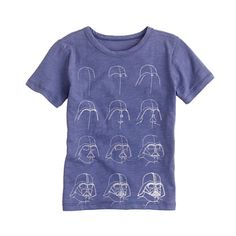 Star Wars™ for crewcuts glow-in-the-dark tee // A Very Secret Pinterest Sale: 25% off any order at jcrew.com for 48 hours with code SECRET.