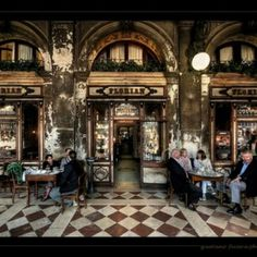 Caffè Florian is a coffee house situated in the Procuratie Nuove of Piazza San Marco, Venice. It was established in 1720