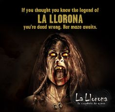 Halloween Horror Nights La Llorona Maze at Universal Studios!