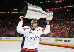 With the Caps recent Stanley Cup win Jay Beagle has become the first player to win the Kelly Cup Calder Cup and the StanleyCup! One Championship, Stanley Cup Champions, Washington Capitals, Cosmopolitan, Beagle, The One, Letting Go, Fun Facts, Basketball Court