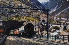 ETHorama – discover images, maps, articles, rare books of the ETH-Bibliothek on the map Swiss People, Swiss Railways, Bahn, 19th Century, Trains, History, Building, Train, Switzerland