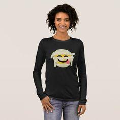 Funny Mummy Bleh Emoji Halloween Long Sleeve T-Shirt - Halloween happyhalloween festival party holiday
