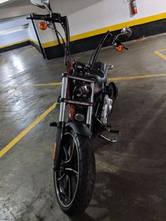 Harley Davidson Breakout ape hangers. Harley Davidson, HD, Breakout, Ape hangers