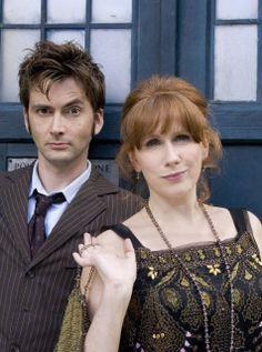 David Tennant (Tenth Doctor) & Catherine Tate (Donna)