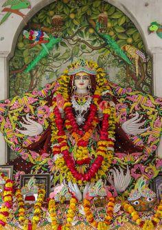 Vrinda devi Gods And Goddesses, Deities, Temples, Krishna, Rose, Painting, Art, Art Background, Pink