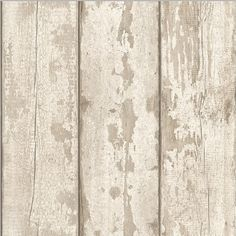 Arthouse White Washed Wood Wallpaper. Pattern: 694700. Repeat: 26.5cm Offset. Roll size: 10 x 53cm (Approx.) Coverage: 5.3M² (Approx.) - B&M Stores