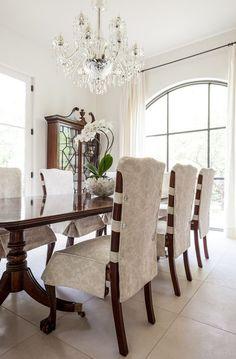 HappyModern.RU | Чехлы на стулья (43 фото): функциональное и оригинальное украшение мебели | http://happymodern.ru