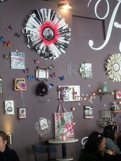 R Cafe interior. Long Street Cape Town