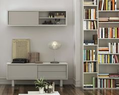 Modern Nilo Grey and White TemaHome TV Unit