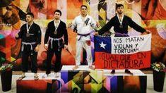 """Jiu Jitsu Chile - """"Nos matan, violan y torturan, igual que en dictadura"""" es la denuncia realizada por un deportista chileno al momento de subir al podio. Tang Soo Do, Judo, Taekwondo, Jiu Jitsu, Miss Colombia, Bicycle Kick, Sports, Tae Kwon Do"""