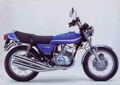 KH 250, 5 Speed, 3 Cylinder. 1977