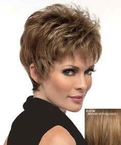 Pictures Of Fluffy Short Hair Styles With Bangs For Woman | Short ...