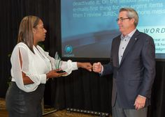 Dyani Smith and Dave North, President & CEO of Sedgwick