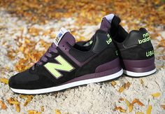 "New Balance 574 ""Connoisseur Painters"" – Black – Purple"