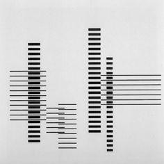 Josef Albers Rhythm 1958