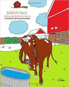 SASHA Farm: A Coloring Book for Rescued Animals