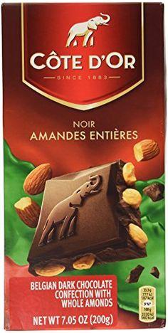 Cote DOr Dark Chocolate wAlmonds 200 g -- ** AMAZON BEST BUY **