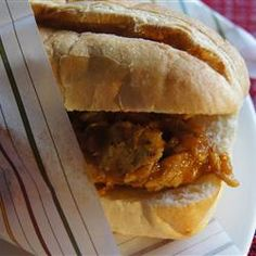 """Bourbon-Mango Pulled Pork 
