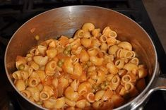 My Italian American Grandma was not a convenience food lady. Everything was made from scratch.  Pizza, pasta, and cake.  But for this dish she used canned peas and tomatoes. It just works so that how I do it now. I always have peas, pasta, and tomatoes in the pantry.  It's my go to cheap, easy, and yummy meal.