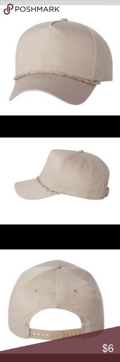 Five Panel Cap with Braid See pics for specific details Accessories Hats