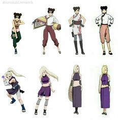""""""".  's edit .  Tenten and Ino is evolution  They're so both beautiful ♥"""