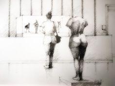 La statue par Amaury Brumauld