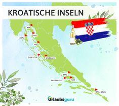 Die kroatischen Inseln überraschen mit ihrer unglaublichen Vielfalt. Klickt hier, um einen Überblick zu bekommen und euch die Entscheidung zu erleichtern.