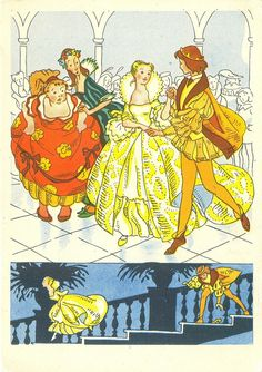 'Cinderella' (Charles Perrault and the Grimm brothers) by Nika Gol`ts