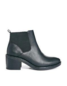 Truffle – Bree – Ankle Boots im Chelsea-Stil mit Absatz