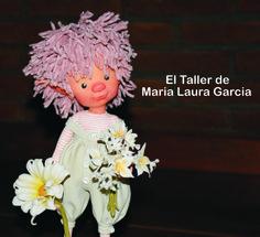 Duende infantil inspirado en los duendes de polymero.Mi duende mide 30 cm