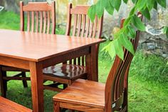 5' Shaker Farm Table by Peaceful Valley Furniture #amishmade #lancastercounty