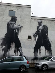 Street Art in London by Conor Harrington