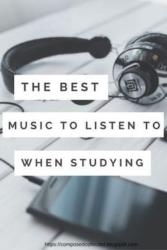The Best Music To Listen To While Studying Not only are you benefiting from listening to music while studying, researchers have also found that there are great benefits to listening to music before studying or performing a task. These benefits include improving memory, attention and even mental math ability. It can also ease anxiety and depression. With school already back in session there is no doubt that many of us will need to take advantage of these benefits.