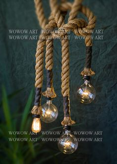 Hey, I found this really awesome Etsy listing at https://www.etsy.com/listing/194395520/hanging-rope-lampdiameter-5-cm
