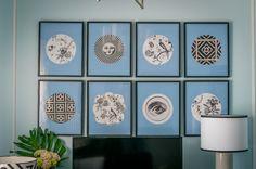 Interiores | Detalhes | Toda a Casa | Interior Design Ideas | Molduras | Frames | Print