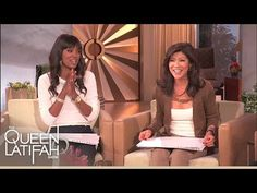 ▶ Julie Chen and Aisha Tyler Test Their Knowledge | The Queen Latifah Show - YouTube