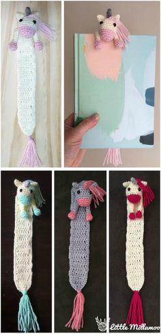 Crochet bookmarks Best patterns and cutest ideas Lesezeichen häkeln Beste Muster und niedlichste Ideen Crochet bookmarks Best patterns and cutest ideas, characters Crochet Simple, Love Crochet, Beautiful Crochet, Crochet Toys, Diy Crochet Gifts, Crocheted Animals, Crochet Sweaters, Crochet Afghans, Knit Crochet