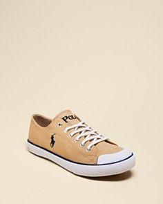 Ralph Lauren Childrenswear Boys' Chandler Lace-up Sneakers - Big Kid_0