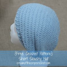 This short slouchy hat would be the perfect weekend pattern! Make sure to share your finished project on our Facebook Page!