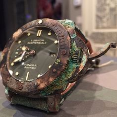 Panerai Bronzo patina anyone?