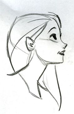 simple sketches to draw best 25 side face drawing ideas on pinterest side profile side