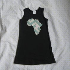 For the Love of Africa 4T Dress by PreciousGoons on Etsy, $13.00