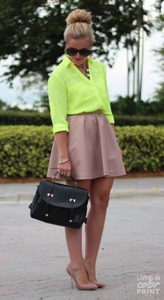Neon + Neutral | Living In Color Print