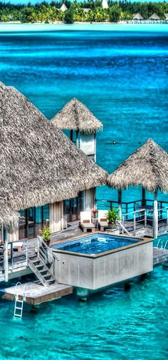 Incredible Pictures Ocean House at St. Regis, Bora Bora