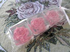 Rose Wedding Favors by SoapFavor on Etsy, $24.00
