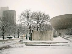 Winter Afternoon, Empire State Plaza, Albany, New York