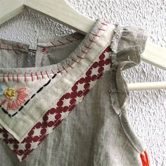 Custom Linen Tea Party Tunic ~ Twinkle ~ via Etsy x