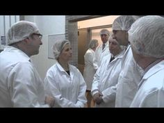 The Countess of Wessex visits the Ginsters Factory