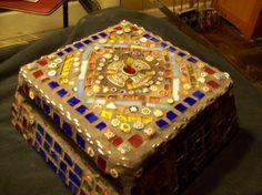 mosaic cigar box
